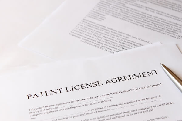 License agreement Unitary Patent