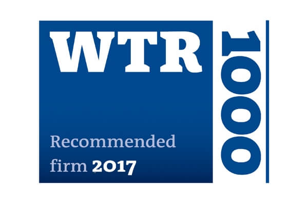 WTR 1000 Recommended
