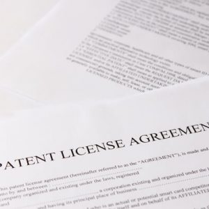 License and sale vo patents trademarks license agreement unitary patent platinumwayz